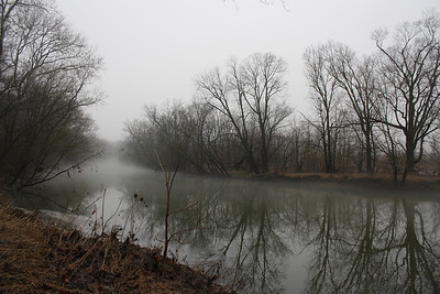 Fog on the White River, January 28, 2013  Photographer's Name: Rachel  Landers Photographer's City and State: Anderson, IN