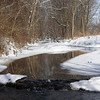 Killbuck Creek thawing out in Richland Township.<br /> <br /> Photographer's Name: J.R. Rosencrans<br /> Photographer's City and State: Alexandria, Ind.