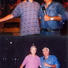 """Life long resident of Anderson, John E. Etchison, got to meet Jay Leno<br /> before the Tonight Show on not one but two occasions. This first time<br /> John met Jay was June, 2005 and the<br /> second time was August, 2012. Jay Leno is seen<br /> with the denim shirt he always wore before the Tonight Show would start.<br /> Jay got a shirt like that with """"22"""" on it the night he retired. Jay Leno<br /> would invite guests from the audience to come up on stage with him before<br /> the show would start."""
