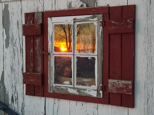 """""""Reflections of a country morning"""" at my farm in Richland Township.<br /> <br /> Photographer's Name: J.R. Rosencrans<br /> Photographer's City and State: Alexandria, Ind."""