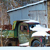 An old work truck in the snow in Alex.<br /> <br /> Photographer's Name: Brian Fox<br /> Photographer's City and State: Anderson, Ind.