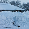 Snow piled up at Chesterfield Animal Hospital.<br /> <br /> Photographer's Name: Jeremy Lambert<br /> Photographer's City and State: Anderson, Ind.