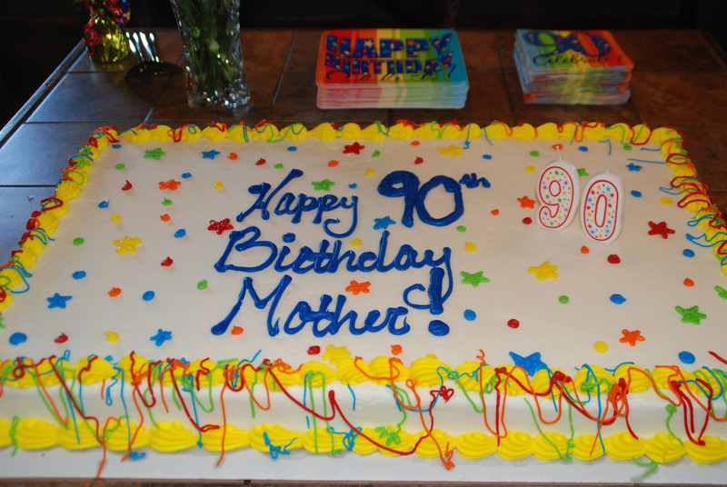Mother Parker's 90th birthday celebration!