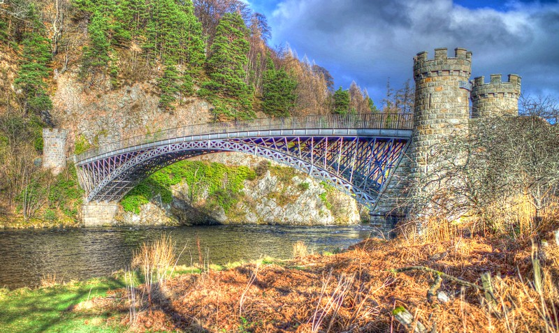 Craigellachie Bridge - 1st February 2017