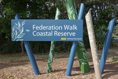 Federation Walk Coastal Reserve, Gold Coast, Queensland.