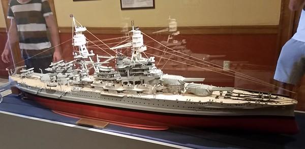 USS Arizona World War 2 battleship