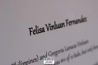 Felisa's 90th