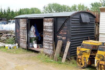 Grounded 12t Vent Van at Fen Drayton, Capability Barns  18/09/15.