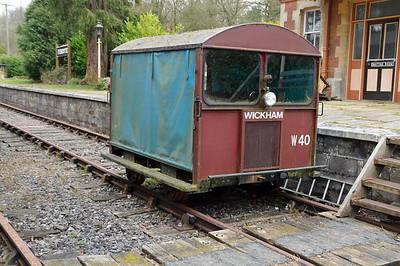 Wickham 2w2PmR DX68067 at Fencote Old Station.