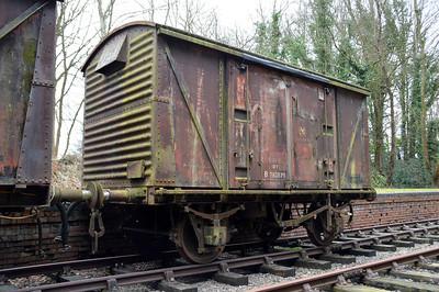 B782879 12t Vent Van at Rowden Mill Station.