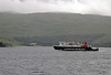 Just over an hour out of Oban and we passed Clansman's sister ship, Lord of the Isles which was inbound to Oban from Coll and Tiree and, like Isle of Mull, is Mirrlees powered.