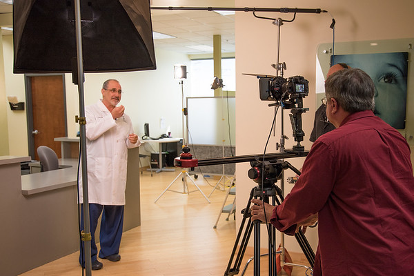 Dr. Elan Simckes of the Fertility Partnership appears in a television commercial produced by miano.tv, directed by Bob Miano.