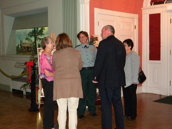 The 2012 Festival of Lights at Stephen Foster Folk Culture Center State Park sponsor's reception