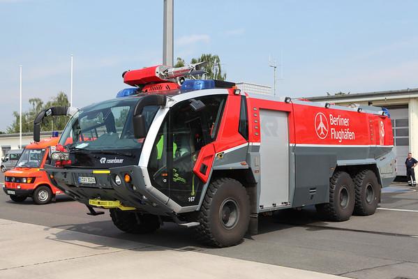 Feuerwehr Flughafen Berlin June 2010