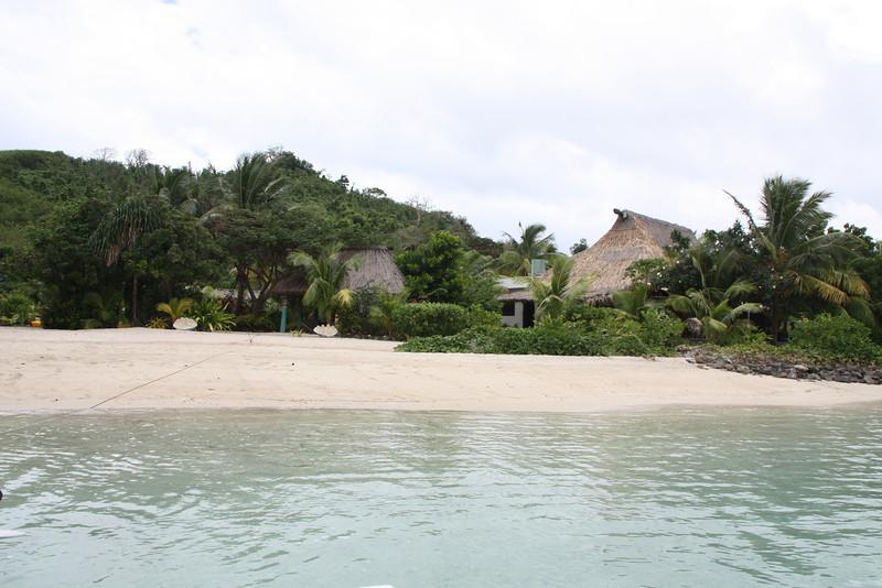 Arriving at the First Island - Navutu Stars