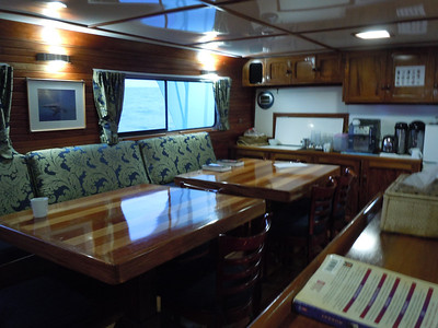 The dining area.  Very important when you are doing 3 to 5 dives per day.