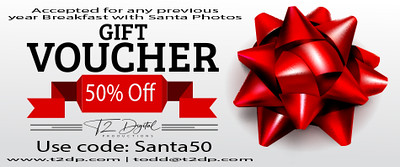50% off - Breakfast with Santa