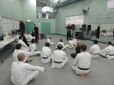 Seminar Debrief with Grandmaster Angelo 8th Dan Filipino Kyusho & Shihan Martin Day Combat Karate & self defence training in Noosa