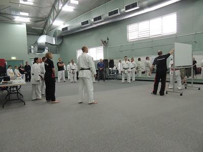 Grandmaster Angelo 8th Dan Founder Filipino Kyusho going through PRINCIPLES of self defence & martial arts