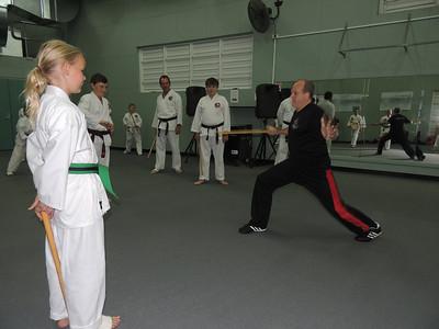 With Eryn Combat Karate Sunshine Coast