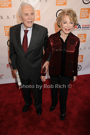 Anne Buydens Douglas, Kirk Douglas<br /> photo by Rob Rich © 2010 robwayne1@aol.com 516-676-3939