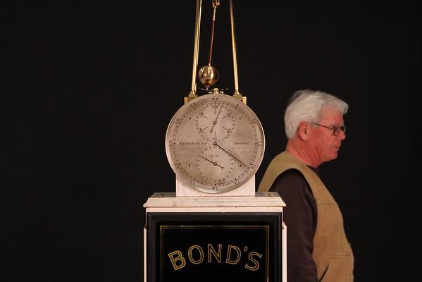 William Bond & Son, Boston No. 396<br /> Escapement invented by Richard Cranch Bond<br /> 1868