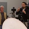 (l) Photographer, Robert Arnold (aka, Pro Bob)<br /> (r) Skinner Photographer, Stan Bystrowski