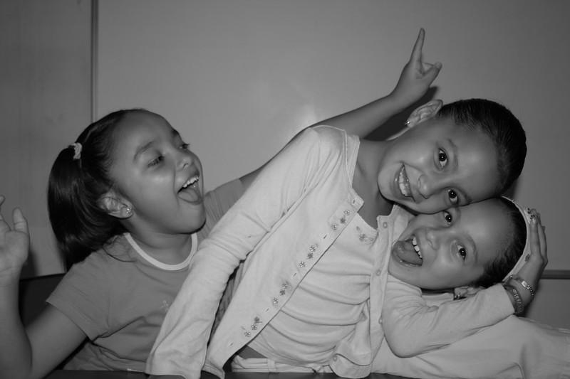 ceci, alejandra and andrea.. students.