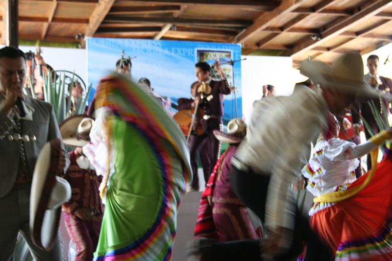 mexican folk fury!  the herradura factory, tequila, jalisco.