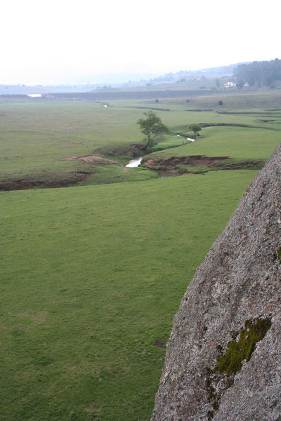 """las piedrotas,"" or really big rocks, in a mountainous area outside tapalpa, jalisco"