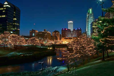 Omaha Nebraska Festival of Lights