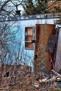Abandoned Trailer House