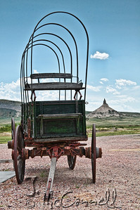 Chimney Rock Covered Wagon