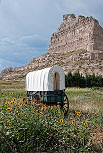 Scottsbluff Covered Wagon