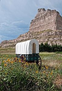 Scottsbluff Covered Wagon