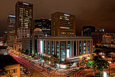 Cloudy San Diego Nightscape