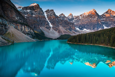 Moraine Lake at Dawn (12x18) - BEST SELLER!