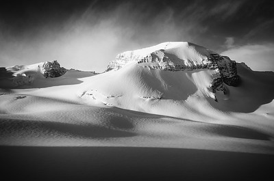 Mt. Rhondda B&W (12x18)