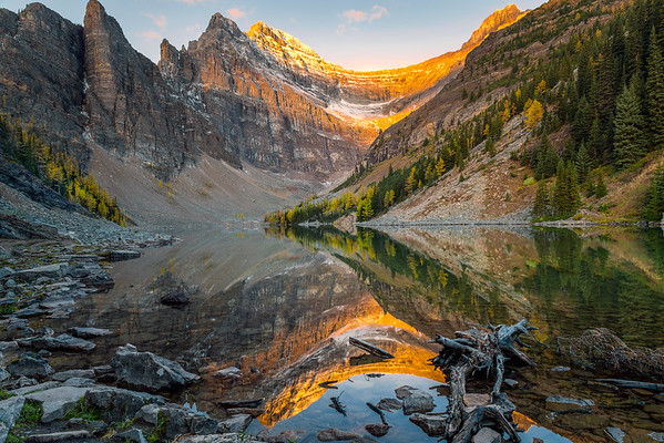 Lake Agnes Reflection (12x18) - NEW!
