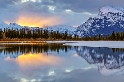 Vermillion Lake Sunrise (12x18)