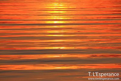 Stellar sunset on French Village Harbour, Nova Scotia, Canada.