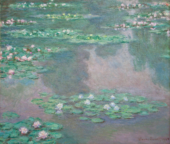Claude Monet<br /> Water Lilies<br /> 1905