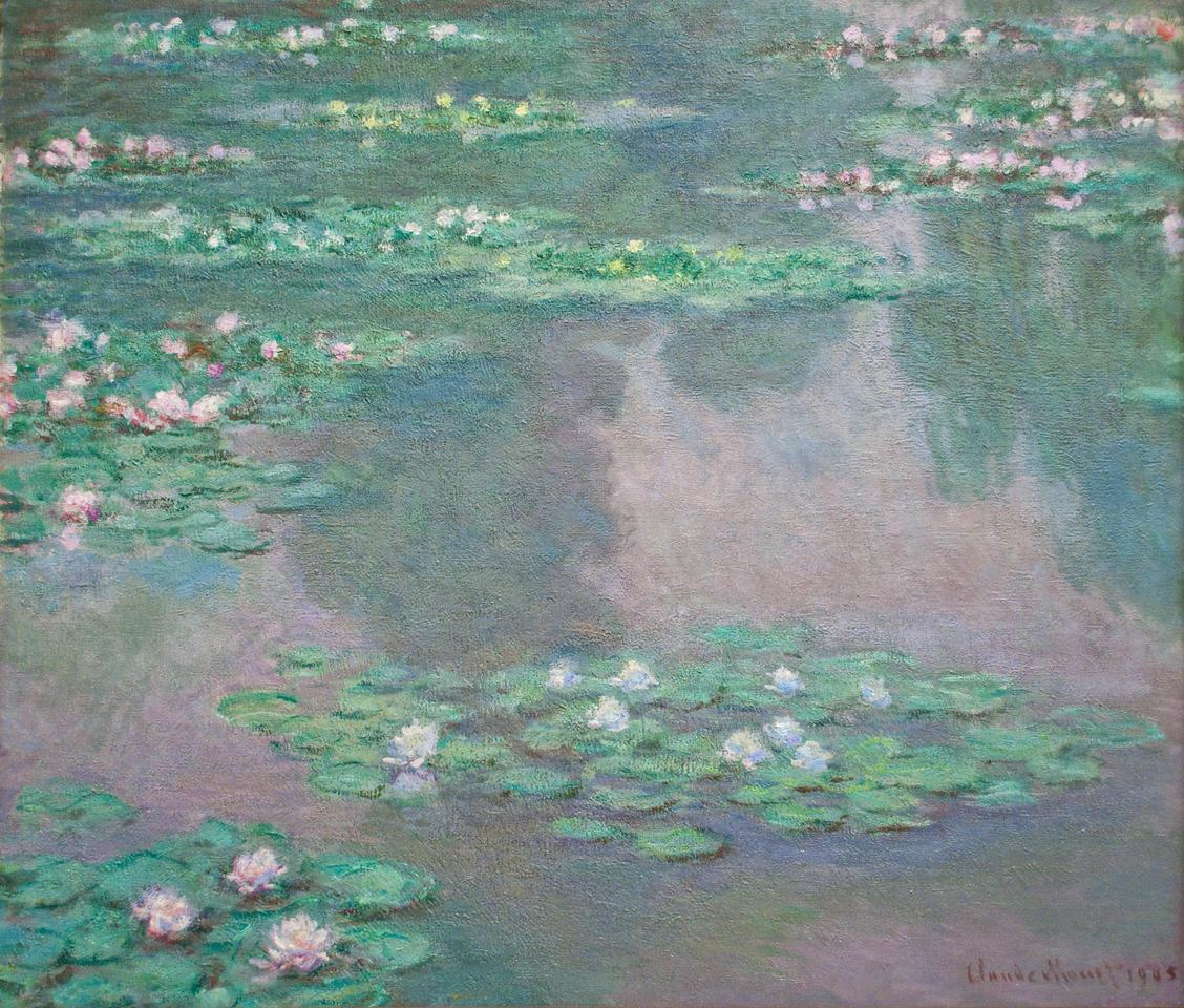 Claude Monet<br /> Water Lilies<br /> 1905