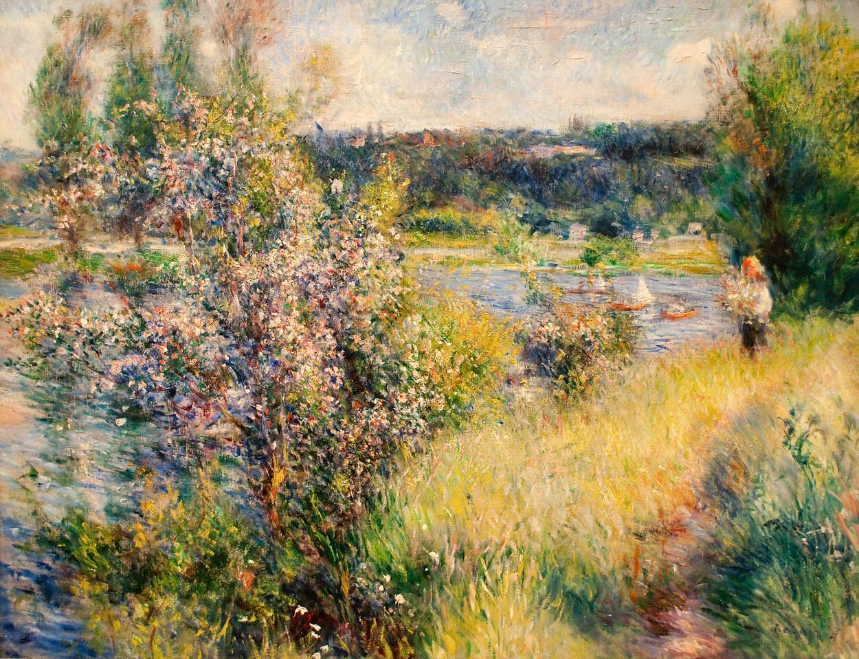 Pierre-Auguste Renoir<br /> The Seine at Chatou<br /> 1881