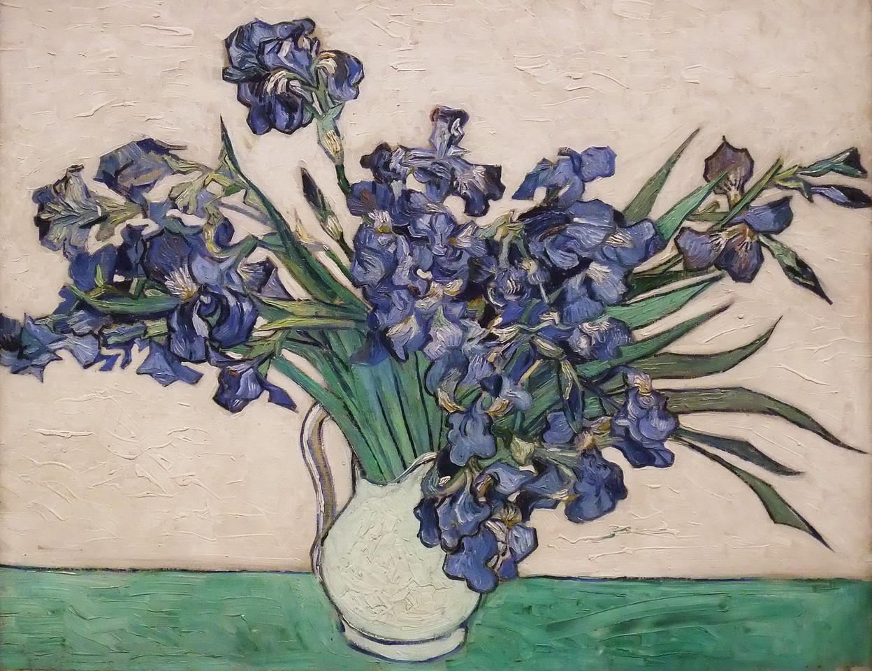 Irises<br /> Vincent van Gogh (Dutch, 1853–1890)<br /> 1890. Oil on canvas. 29 x 36 1/4 in.<br /> Metropolitan Museum of Art