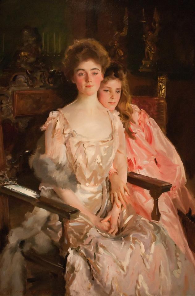 John Singer Sargent<br /> Mrs. Fiske Warren and Her Daughter Rachel<br /> 1903