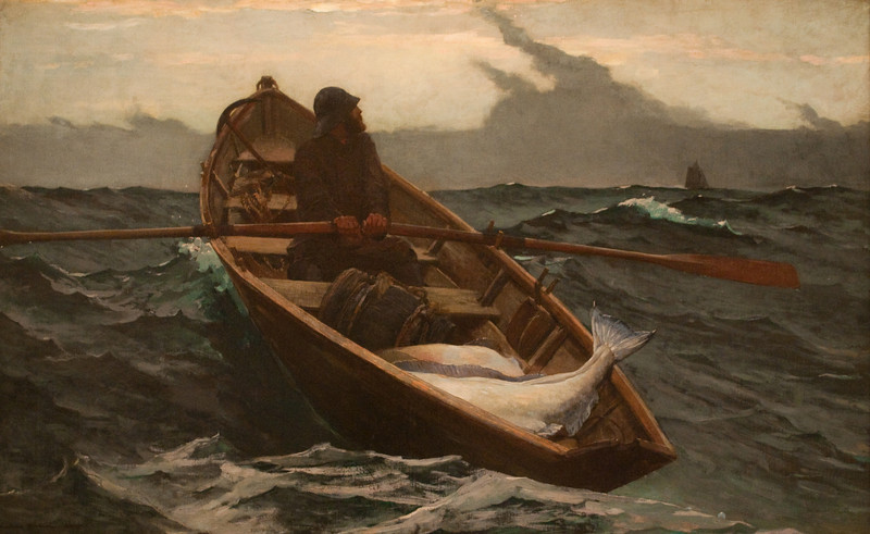 Winslow Homer<br /> The Fog Warning<br /> 1885