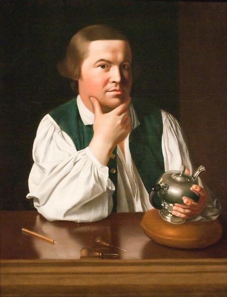 John Copely<br /> Paul Revere<br /> 1768