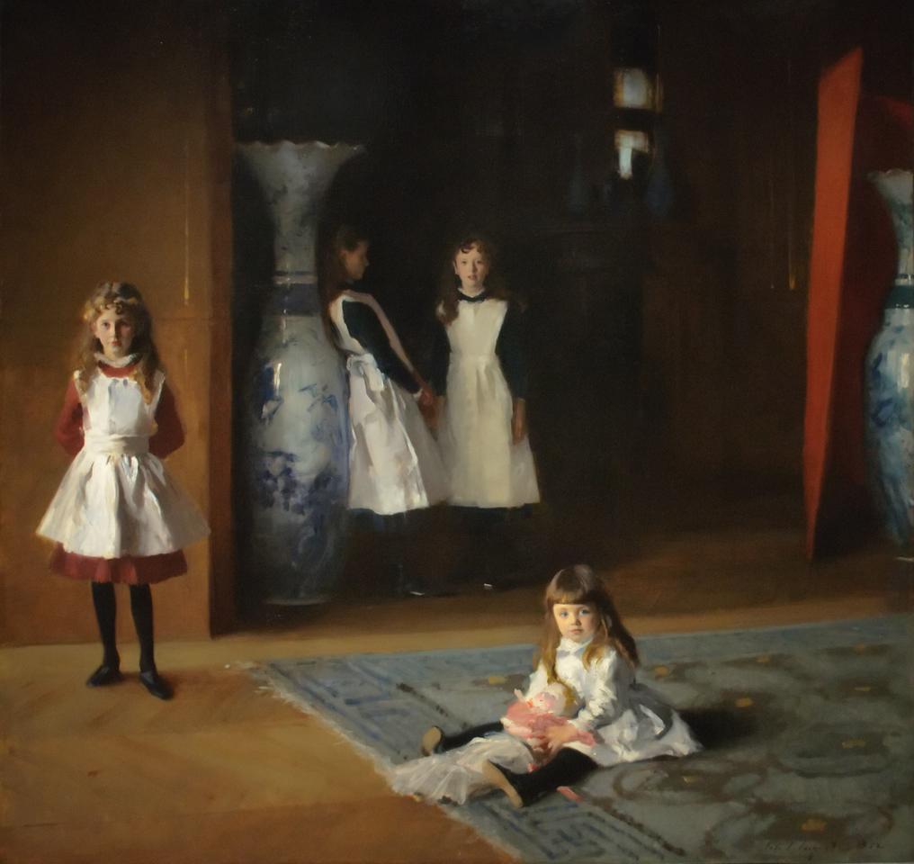 John Singer Sargent<br /> The Daughters of Edward Darley Boit<br /> 1882