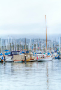 Santa Barbara Harbor Abstraction